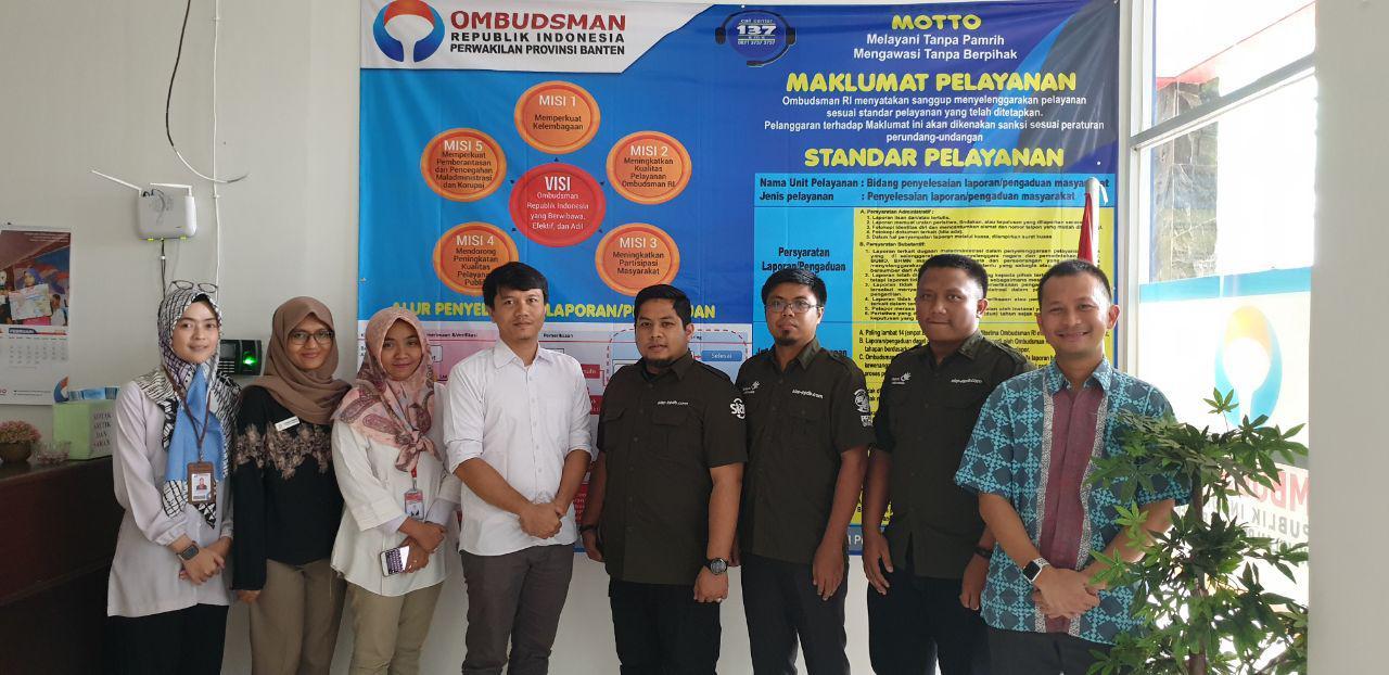 kunjungan tim Telkom SIAP Online ke Ombudsman Banten