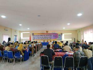 pelatihan admin dan operator PPDB Online 2019 Kab Malang